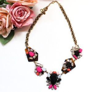 J. Crew Funky Boho Statement Necklace